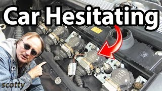 How to Stop Car Hesitation (Spark Plugs and Ignition Coil)