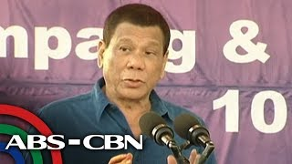 Bandila: Duterte, may babala sa mga tatakbo sa halalan 2019