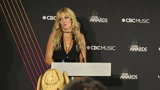 Chat W Meghan Patrick On Winning At The 2018 CCMAs