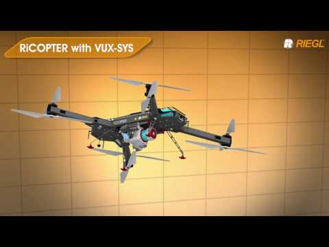pplication Examples using the RIEGL VUX-1UAV LiDAR Sensor