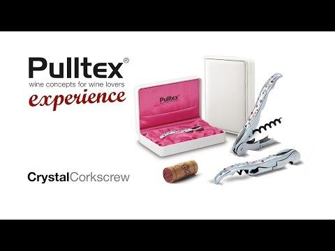 Pulltex Pulltaps Crystal Swarovski Ambre sommeliermes
