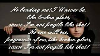 Christina Grimmie Not Fragile lyrics