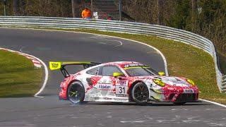 Nürburgring NLS 2 RACE Highlights, Crash, Spins & A LOT of Action! 17 04 2021   NIMEX DMV 4h-Rennen