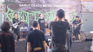 BIOPSY - Apocalyptic Premonition (Analepsy Cover) LIVE AT GARUT DEATHFEST 2018
