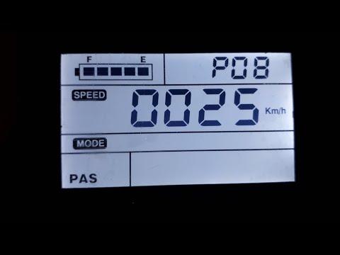 E-BIKE TUNING  SW900 SW-LCD DISPLAY 25KMH LIMMIT AUFHEBEN VOM FISCHER PROLINE USW