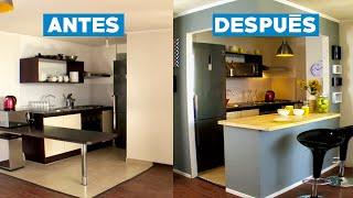 ¿Cómo remodelar una cocina americana?