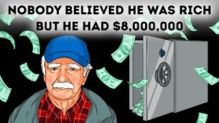 A Janitor Kept His $8,000,000 a Secret His Whole Life