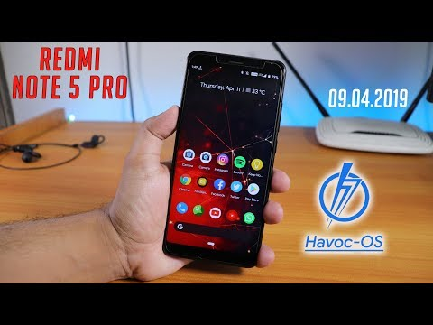 HavocOS V2 4 Pie Redmi Note 5 Pro [09 04 2019] || Full