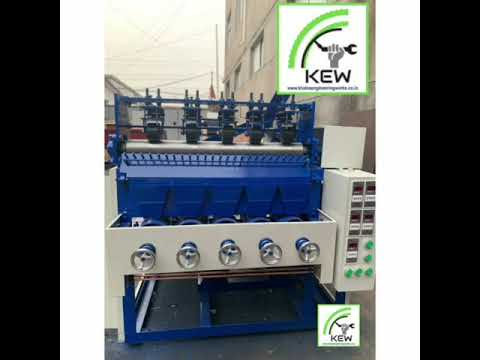 High Speed Scrubber Making Machine