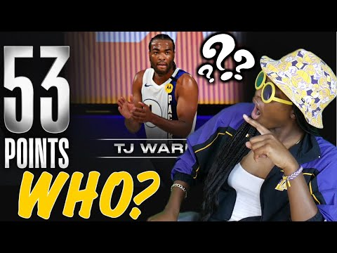 LAKERS FAN REACTS TO TJ WARREN GOING OFF ON 76ERS AND WIZARDS ! (REACTION)😱🤯
