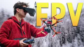 Learning to FLY a CINEMATIC FPV DRONE in ONE WEEK!