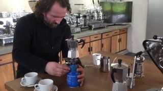 How To Make Cappuccino At Home!   Latte Art With Italian Moka