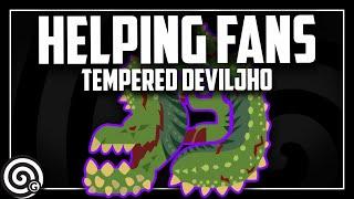 HELPING XBOX FANS - Tempered Deviljho - LIVESTREAM   MHW