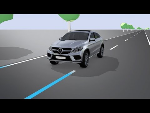 Mercedes-Benz TV: GLE Coup: Lane Keeping Assist.