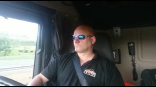 Ross the trucker sings Alan Jackson.  It Must Be Love