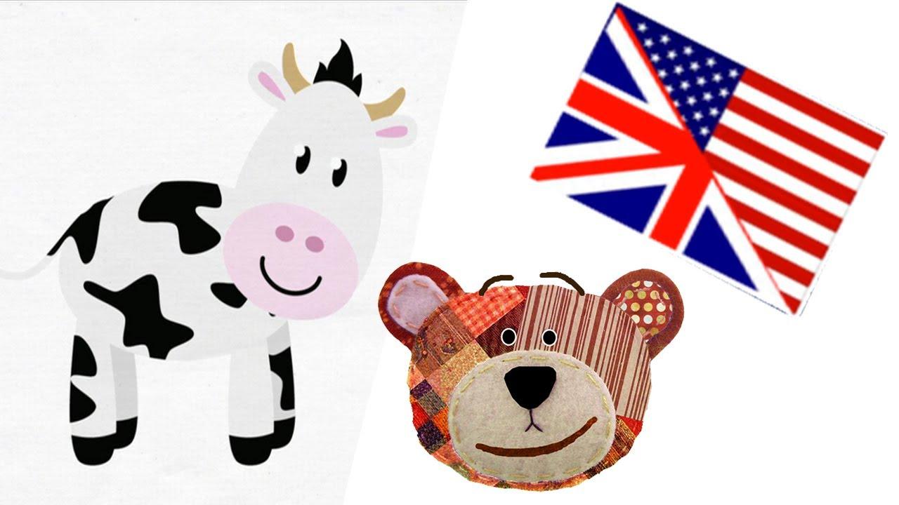 Animales de la granja en inglés - Nombres y dibujos