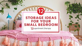 12 Brilliant Ideas For Your Small Bedroom | Apartment Therapy