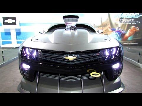 2013 Chevrolet Camaro ZL1 Turbo Coupe - Exterior Walkaround - 2013 New York Auto Show