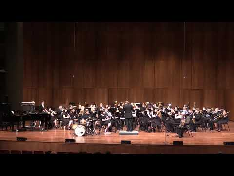 Live performance recording (with concert band) of Tapestry for Tuba by Michael Brand. Recorded in April 2019.