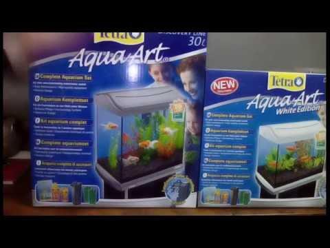 Unboxing e recensione acquari Tetra Aqua Art