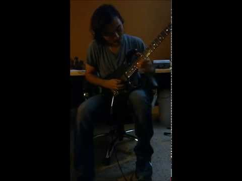 "Guitar Solo for Europe's ""Superstitious"""