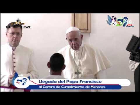 El testimonio de Luis Martínez, un joven privado de libertad, al papa Francisco
