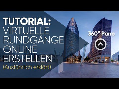 Wie erstellt man virtuelle 360° Rundgänge online? Software Tutorial (Ausführliche Fassung)