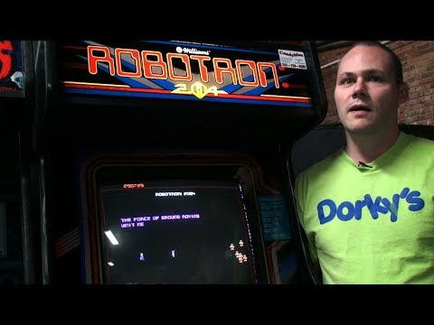 Things Said by Arcade Gamers with Xybots World Champion John McAllister