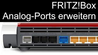 AVM FRITZ!Box - Analog-Ports erweitern via ATA