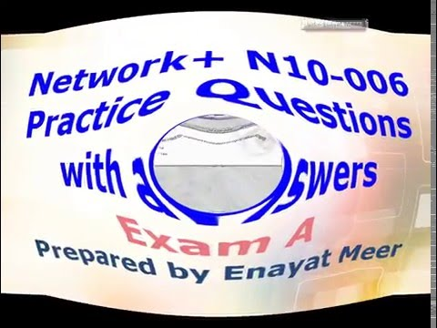 Network+ Exam practice Questions - Exam A - YouTube