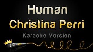 Christina Perri   Human (Karaoke Version)