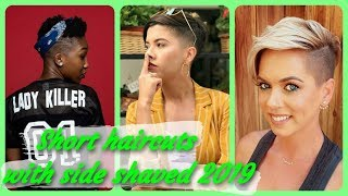 Popular 🌺 Ideas For Short Haircuts With Side Shaved 2019