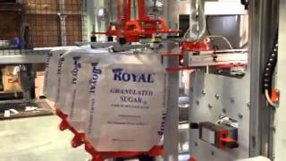 Automatic Valve Bagging System for Granulated Sugar