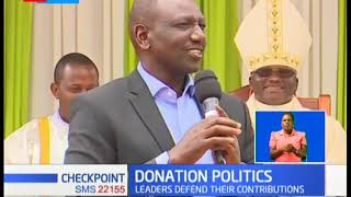 Donation Politics: DP Ruto attends church  33rd anniversary