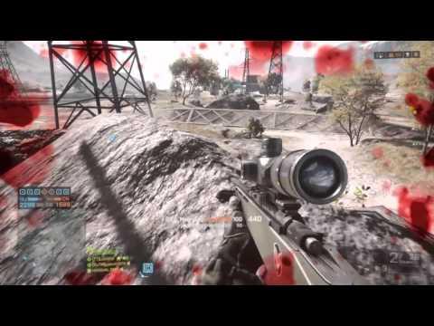 Battlefield 3 дальнее попадание в голову в bf3