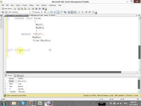VD07 - Tạo thủ tục trong SQL server