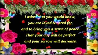 A Prayer For You I Asked The Lord To Bless You