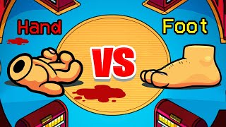 HAND vs FOOT MOD in Among Us Imposter