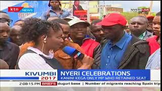Nyeri reacts to President Uhuru Kenyatta's win