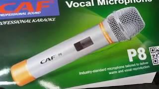 míc hát karaoke CAF - P8 huyền thoại, hát hay mà giá lại rẻ.
