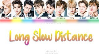 [NCT 127] ''Long Slow Distance'' Color Coded Lyrics