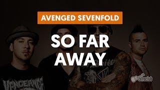 So Far Away - Avenged Sevenfold (aula de guitarra e violão)