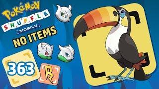 Toucannon  - (Pokémon) - Pokémon Shuffle Mobile   TOUCANNON (no items) Y MEWTWO SHINY CON SUS MEGAS!!!
