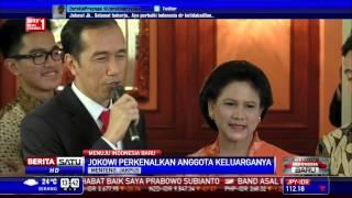Jokowi Kenalkan Anggota Keluarganya