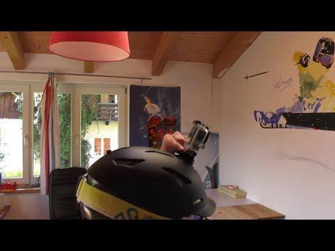 GoPro Hero3+ ;Hero3 adhesive mount richtig am Helm befestigen