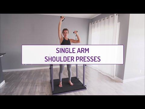 Single Arm Shoulder Presses