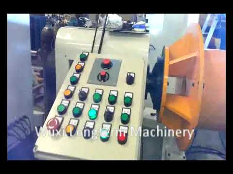 Automatic circumferential seam welding machine for LNG cylinder