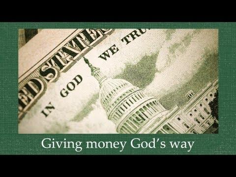 Giving Money God's Way