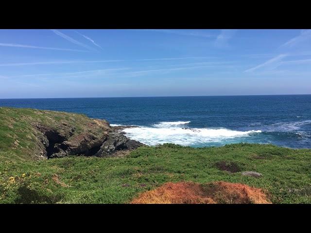 Küstenblick Richtung Rinlo bei Flut