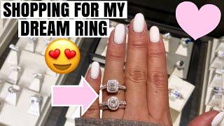 VLOG 17♡  Shopping For My Dream Ring!